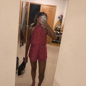 Halter top romper from TOBI new with tags